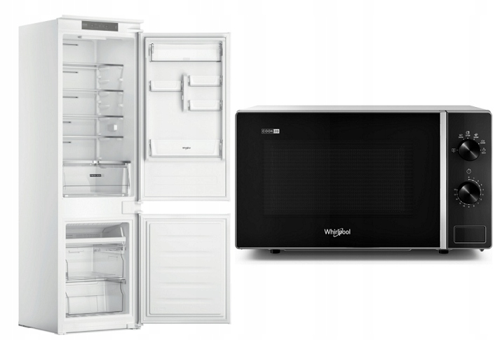 Холодильник Whirlpool WHC18T311 + СВЧ БЕСПЛАТНО