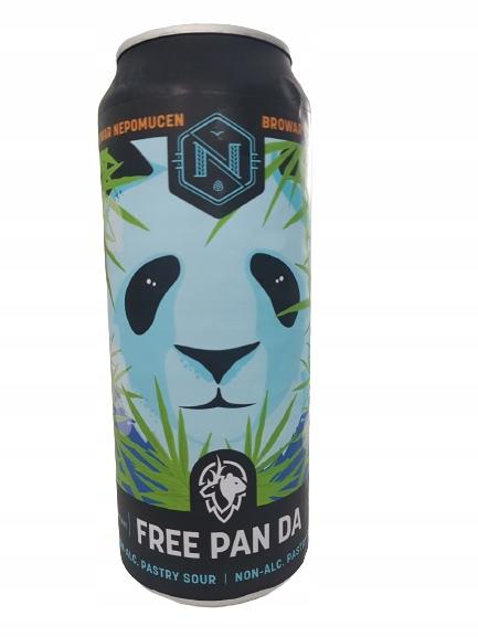 Пиво FREE PAN DA (безалкогольное), пивоварня Непомучен