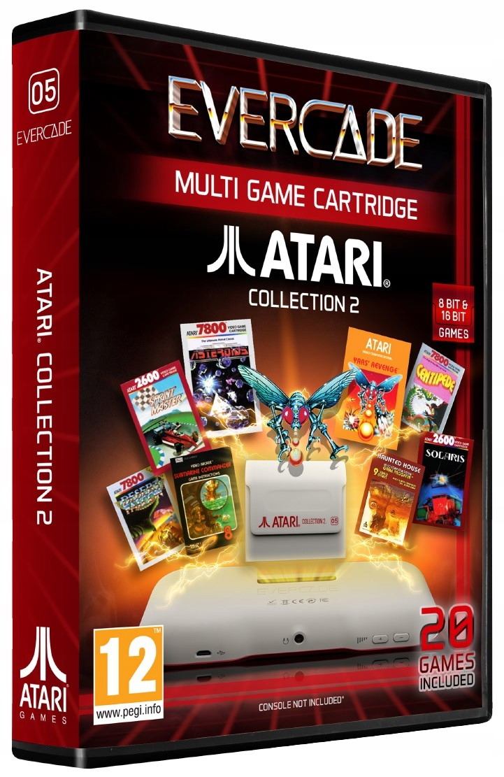 Evercade # 5 - Sada 20 hier Atari Collection 2
