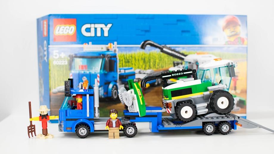 Lego City Transporter kombajnu 60223 – recenzja
