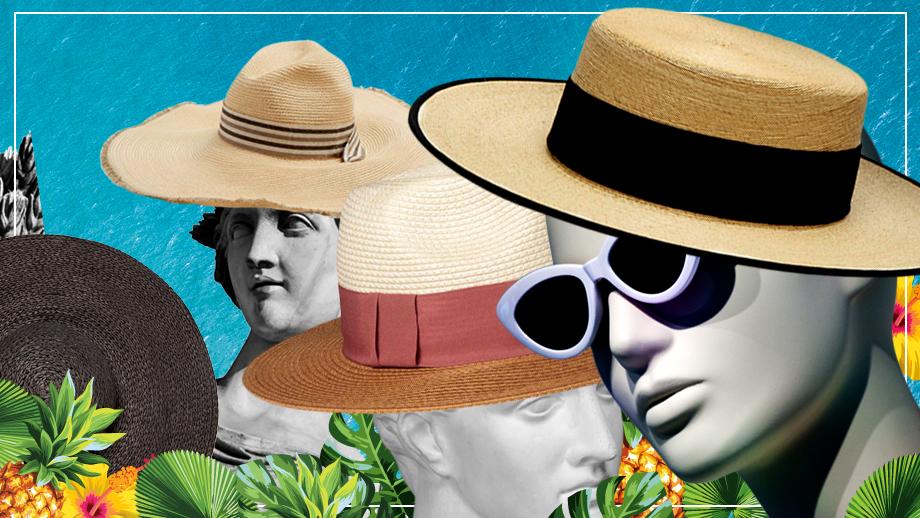 Słomkowe kapelusze XL