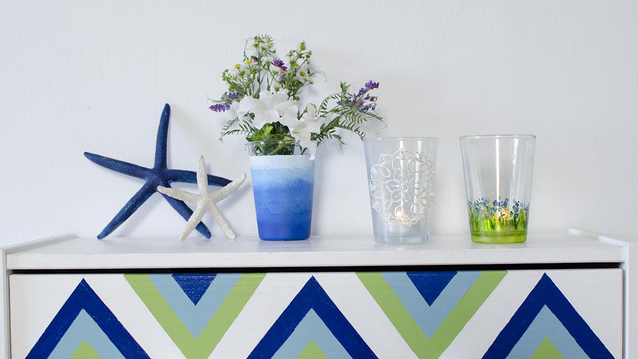 DIY – 3 sposoby na malowanie szkła