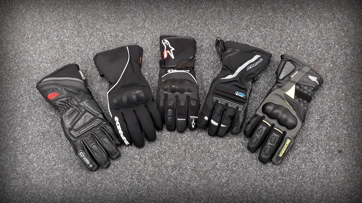 Membranowe rękawice motocyklowe