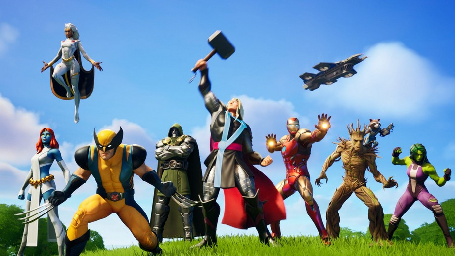 Fortnite to gra tak wielka, że przyciągnęła nawet herosów Marvela
