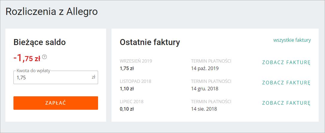 Platnosc Podzielona Split Payment Pomoc Allegro