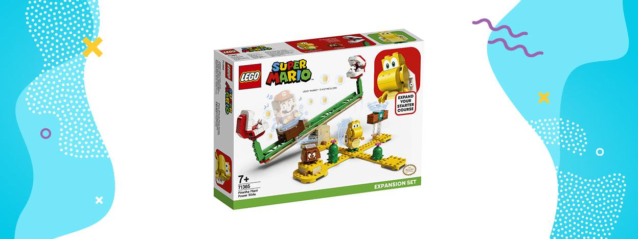 LEGO Super Mario Megazjeżdżalnia Piranha Plant (zestaw rozszerzający 71365)