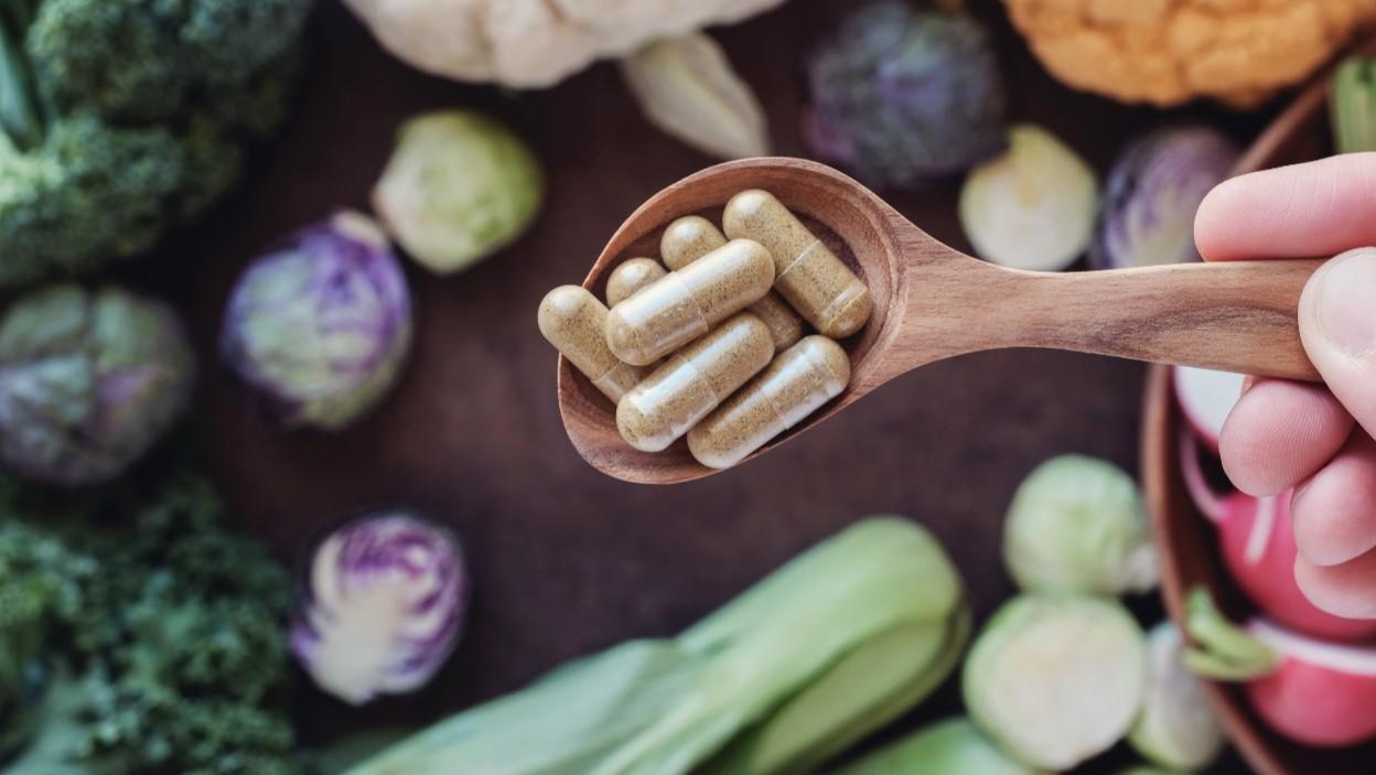 Suplementy diety dla wegan