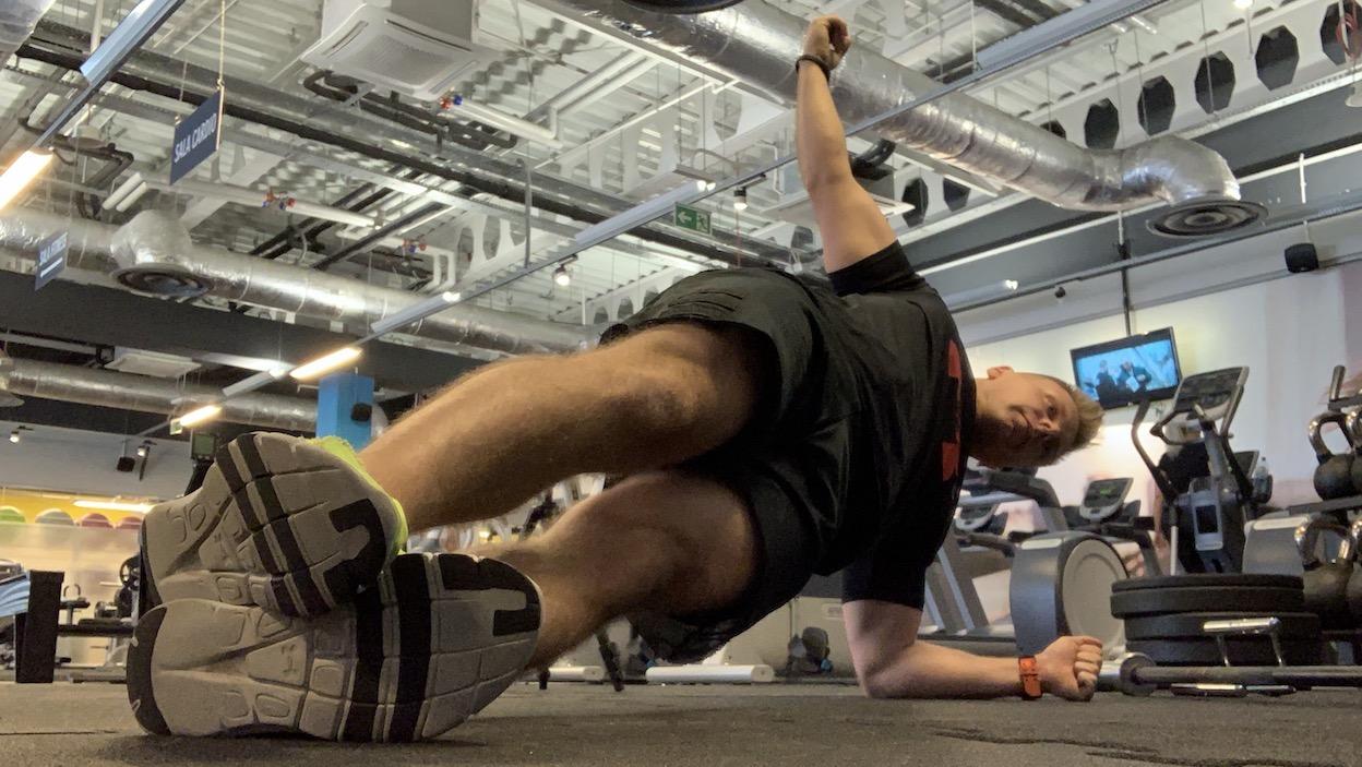 Trening mięśni skośnych brzucha