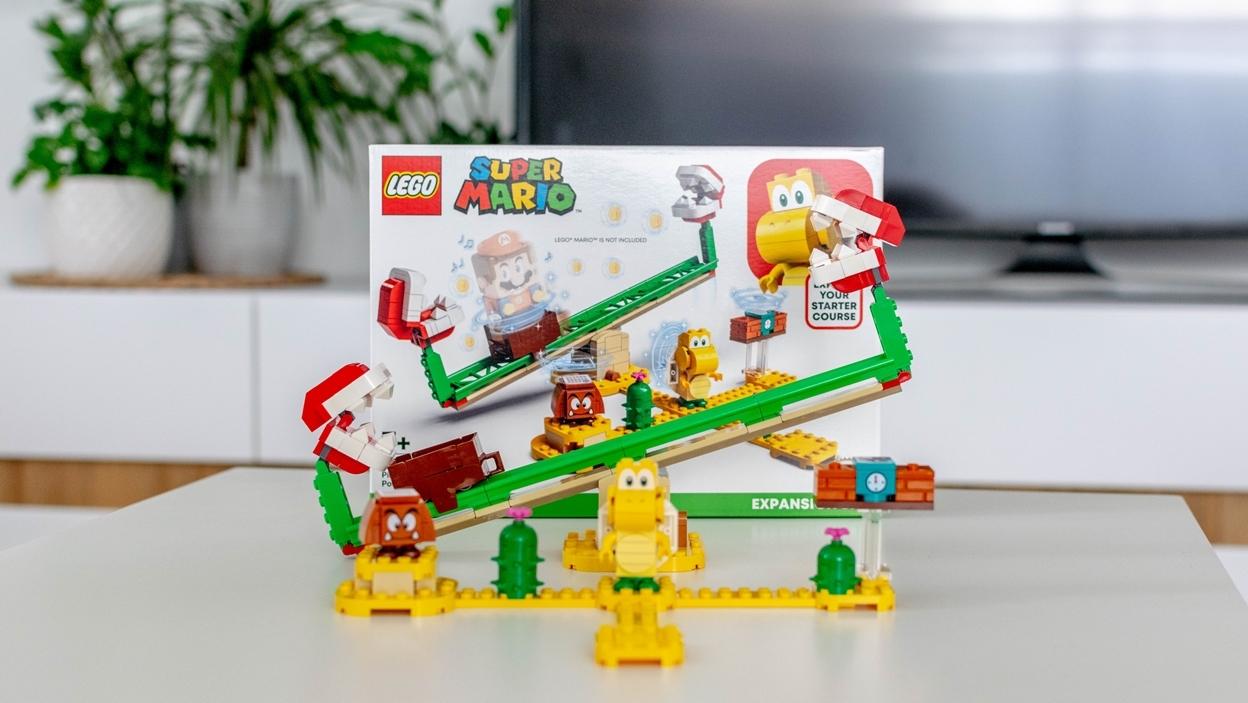 LEGO Super Mario Megazjeżdżalnia Piranha Plant 71365 – recenzja zestawu rozszerzającego