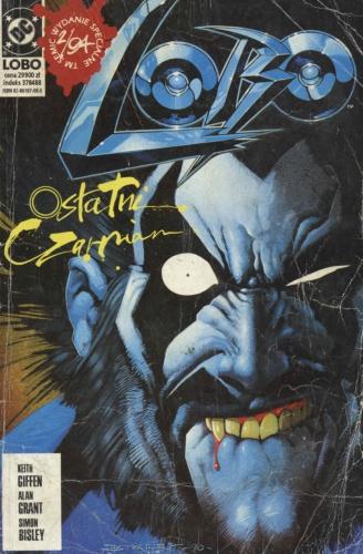 komiks lobo ostatni czarnian