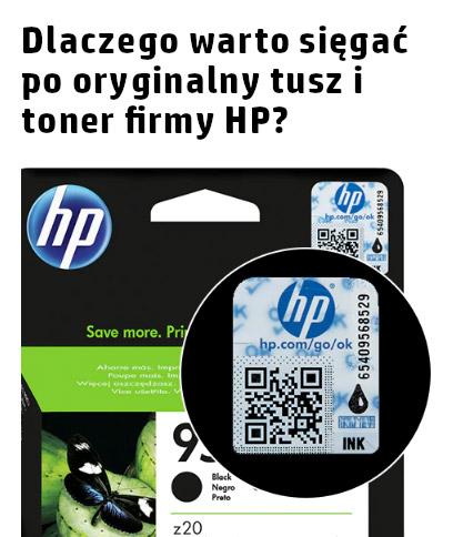 Dlaczego warto sięgać po oryginalny tusz i toner firmy HP?