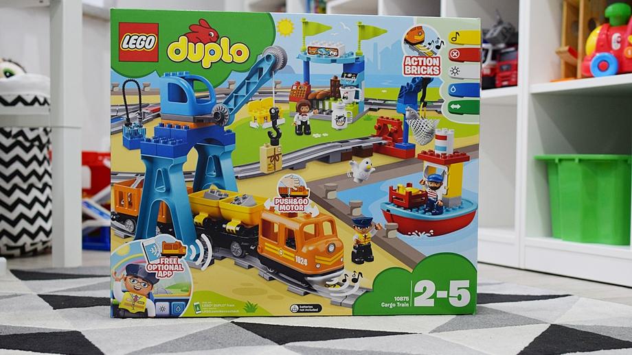 Lego Duplo Pociąg Towarowy 10875 Recenzja Allegropl