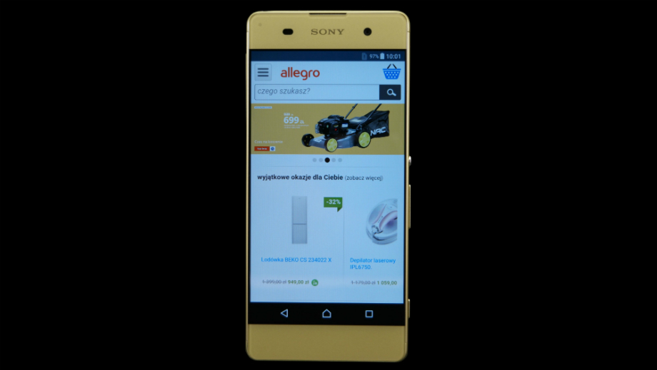Test Smartfona Sony Xperia Xa Gdy Liczy Sie Design Allegro Pl