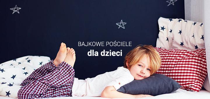 720x340 Bajkowe pościele dla dzieci
