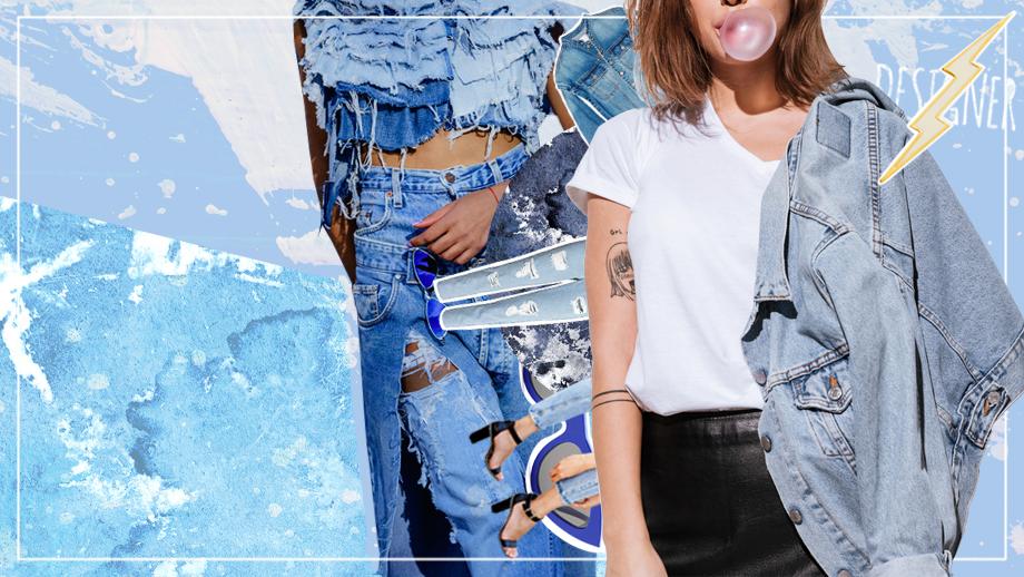 Blue jeans – trendy na sezon wiosna-lato 2019