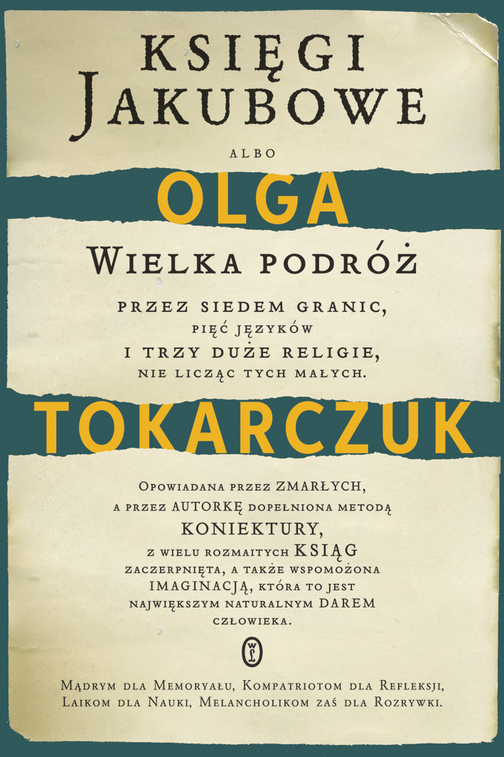 """Księgi Jakubowe"" Olga Tokarczuk – recenzja"