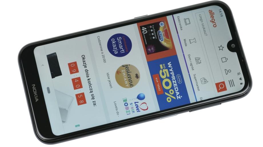 Test Nokii 4 2 Ciekawy Kompaktowy Smartfon W Wygorowanej Cenie Allegro Pl
