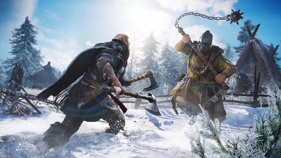 Sssassin's Creed Valhalla to świetna i bardzo duża gra, starczy na dziesiątki godzin zabawy
