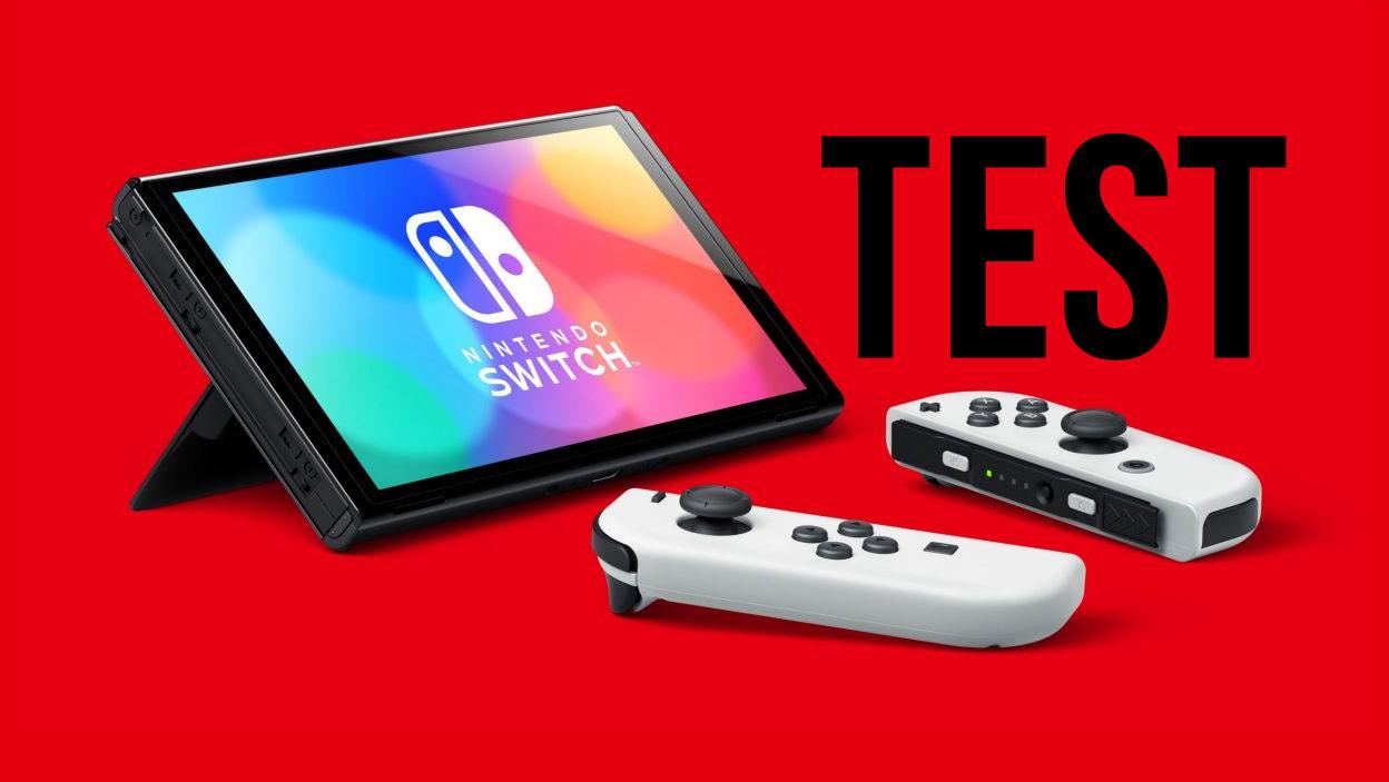 Nintendo Switch OLED – test nowego sprzętu Nintendo
