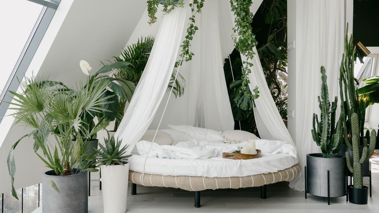 Sypialnia w trzech modnych stylach