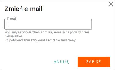 2f3c69810215b Jak zmienić adres e-mail w ustawieniach konta  - Pomoc Allegro