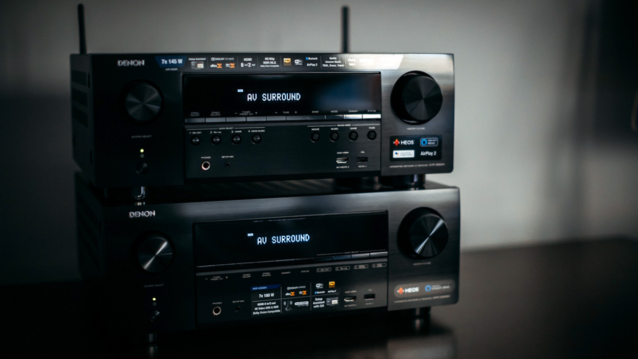 Porównanie amplitunerów Denon AVR-S950H i AVR-X3500H
