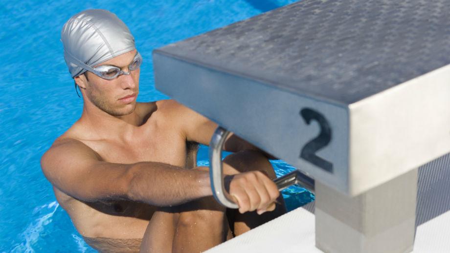 Stroje pływaków olimpijskich