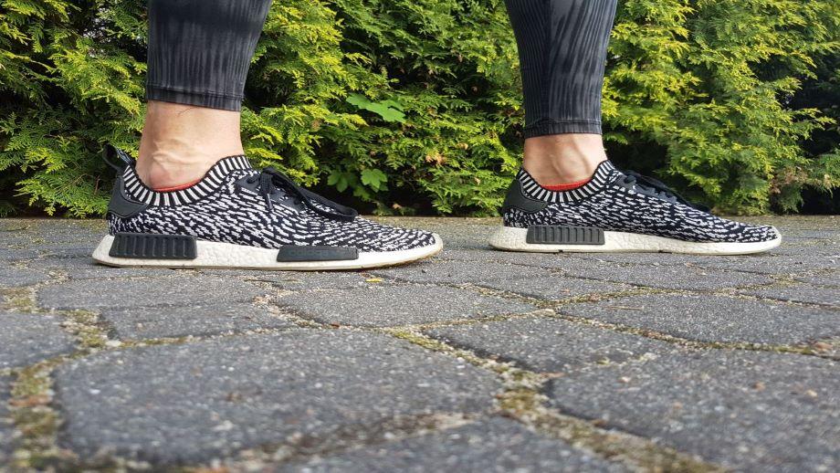 adidas nmd zebra pack on feet