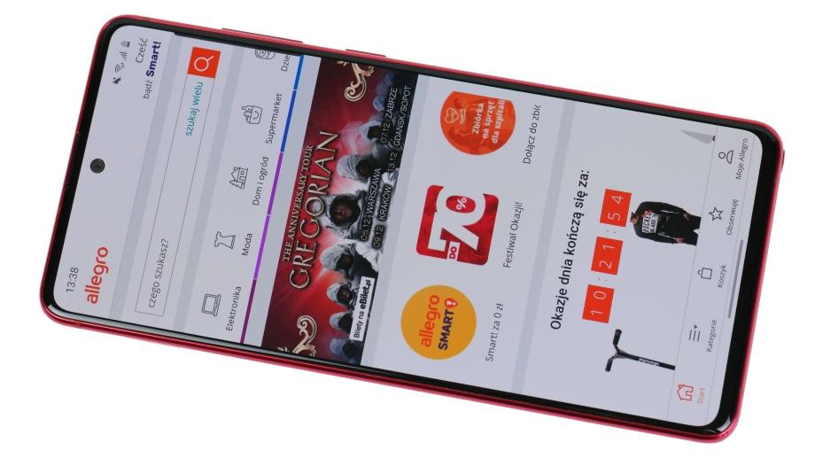 Test Smartfona Samsung Galaxy Note 10 Lite Czy Budzetowy Note Ma Sens Allegro Pl