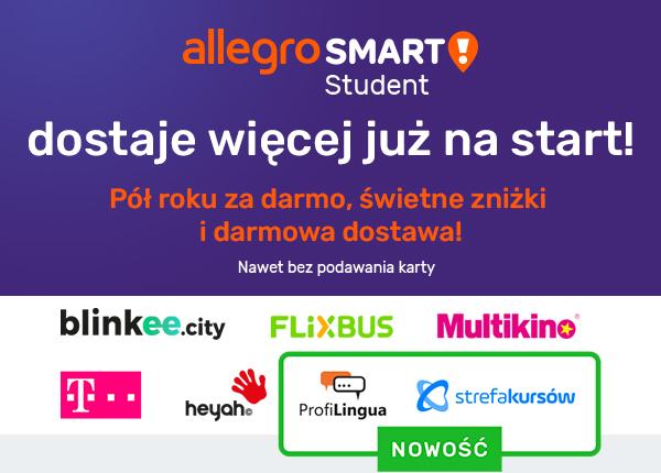 Allegro Smart Student Darmowe Dostawy I Atrakcyjne Znizki