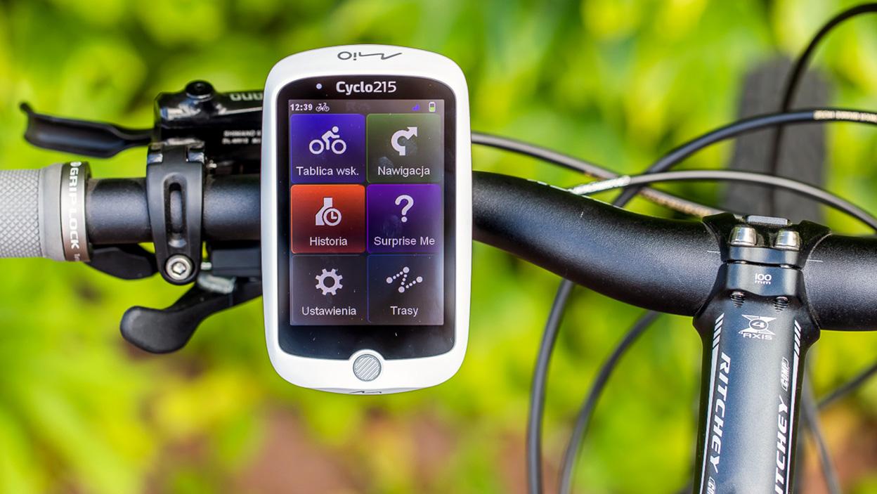 Test nawigacji rowerowej Mio Cyclo 215 HC