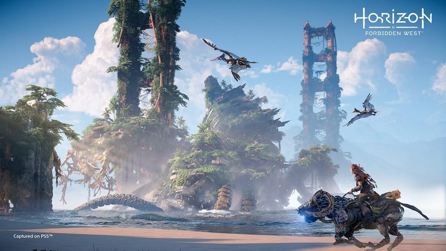 gry takie jak Horizon Forbidden West mogą zachwycić oprawą graficzną