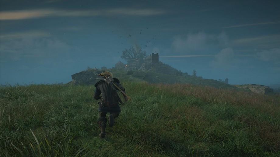 słup dymu na horyzoncie - na pewno warto to zbadać
