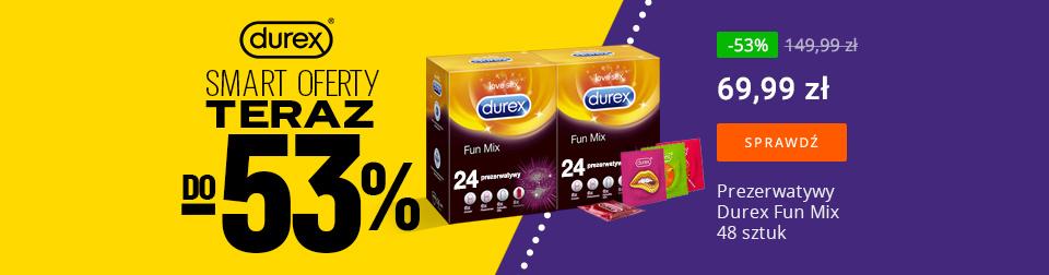 Durex do -53%
