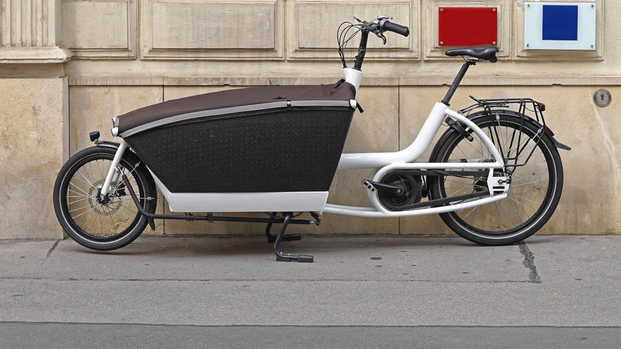 Wygodny i bezpieczny rower typu cargo
