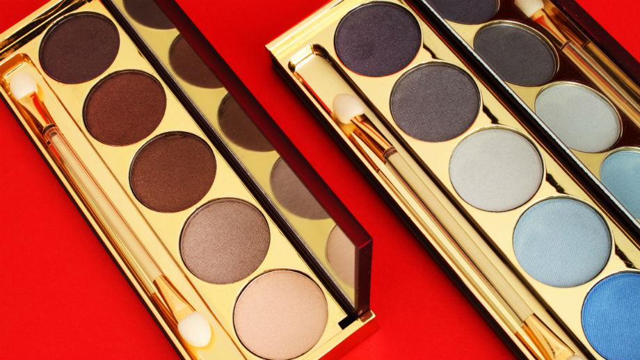 Przegląd popularnych palet do makijażu