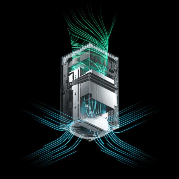 Xbox Series X - budowa i cyrkulacja powietrza
