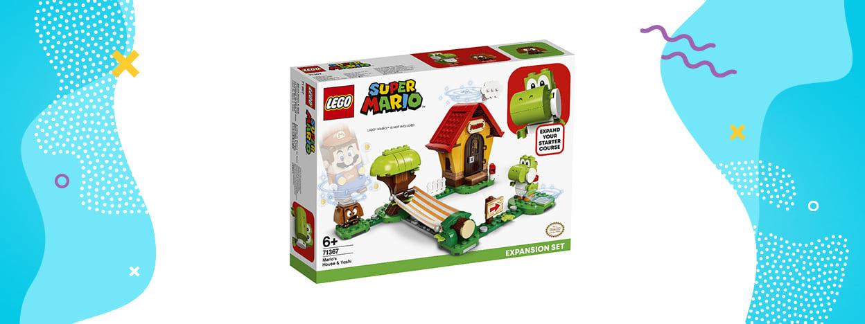 LEGO Super Mario Yoshi i dom Mario (zestaw rozszerzający 71367)