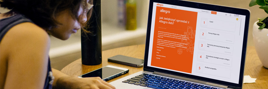 Kurs Allegro Ads - poznaj nasze rozwiązania reklamowe