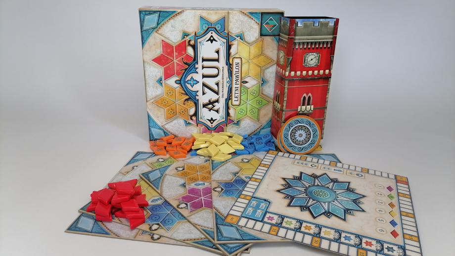 Zawartość pudełka_Azul – Letni Pawilon