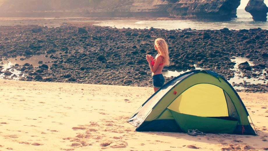 Jaki namiot samorozkładający
