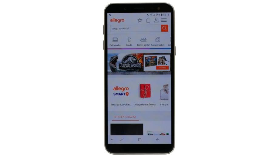 Test smartfona Samsung Galaxy J6 – niezły średniak z pewnym mankamentem