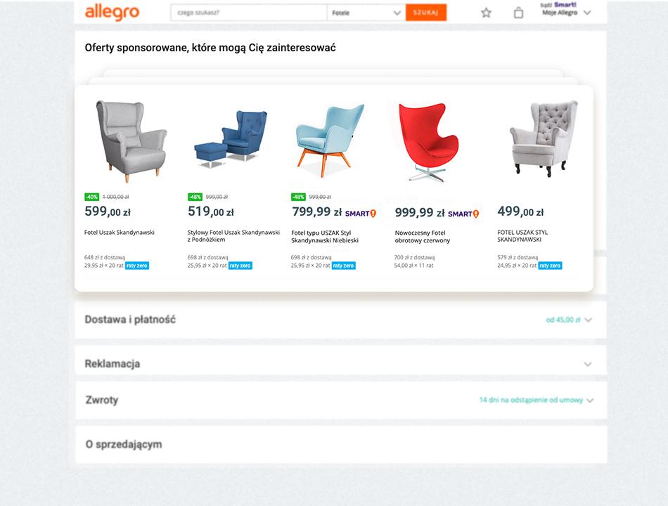 strona oferty allegro ads