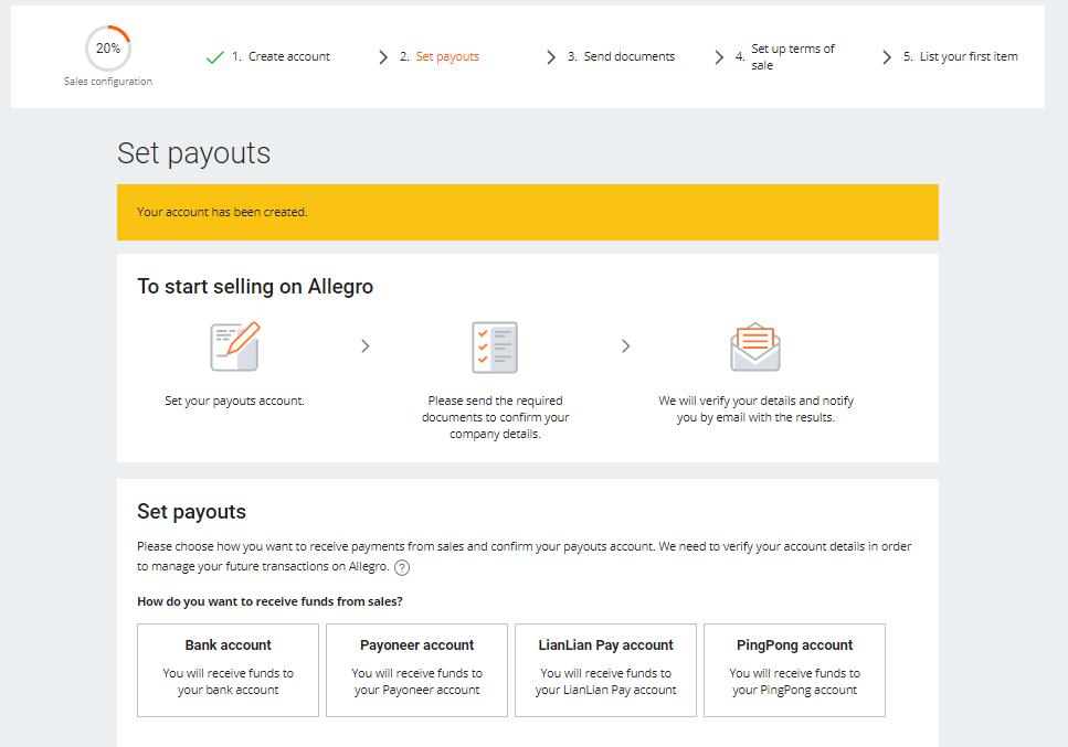 Rejestracja Dla Sprzedajacych Spoza Europejskiego Obszaru Gospodarczego Pomoc Allegro