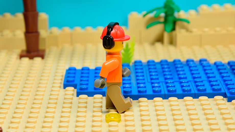 Lego obrázok - druhý krok