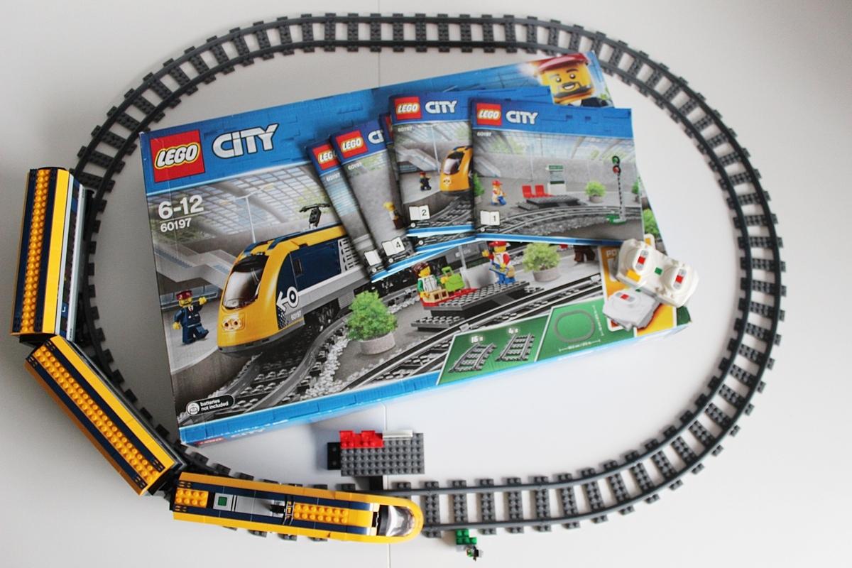 Lego City Pociąg Pasażerski 60197 Recenzja Allegropl