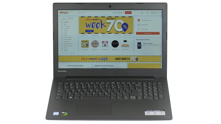Test Lenovo IdeaPad 330-15 – wysoka wydajność, ale nie bez kompromisów
