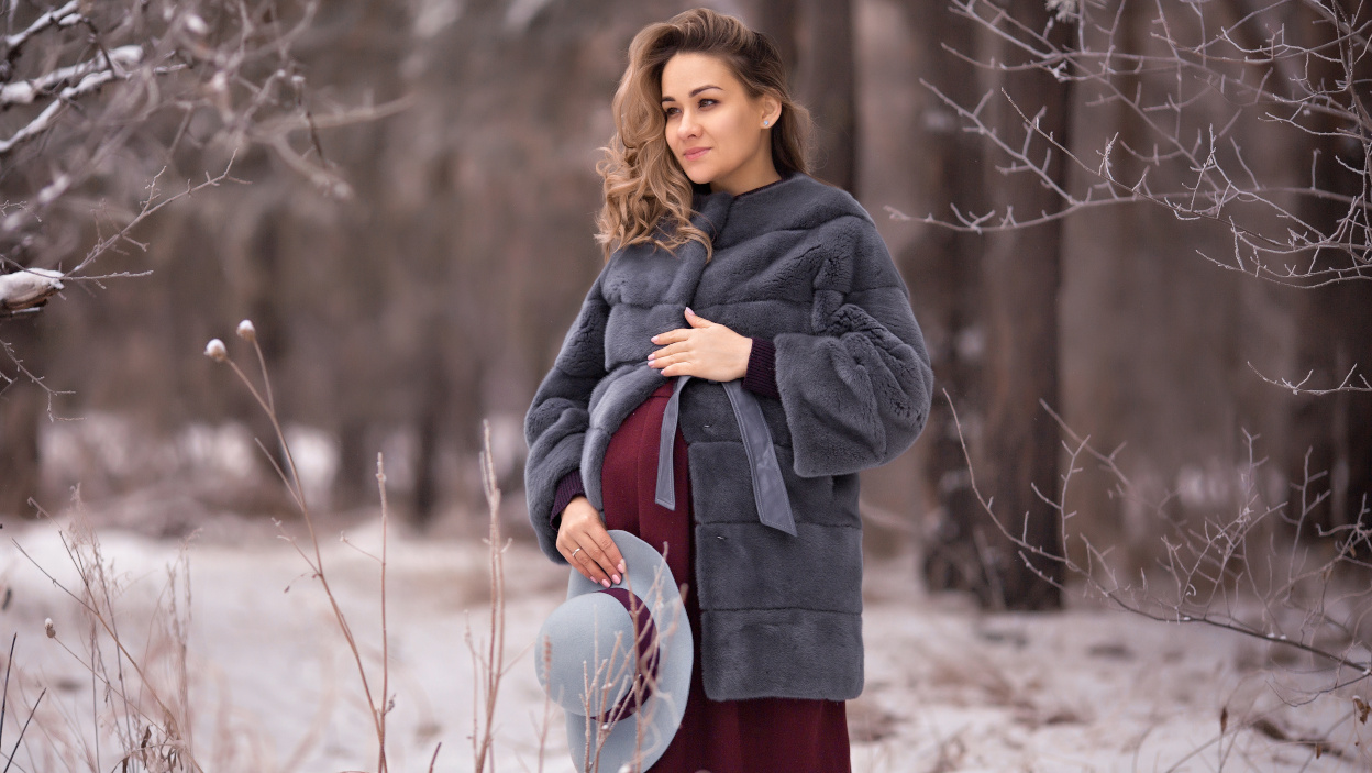 Zimowa Moda Ciazowa Ubrania Dla Ciezarnej Allegro Pl