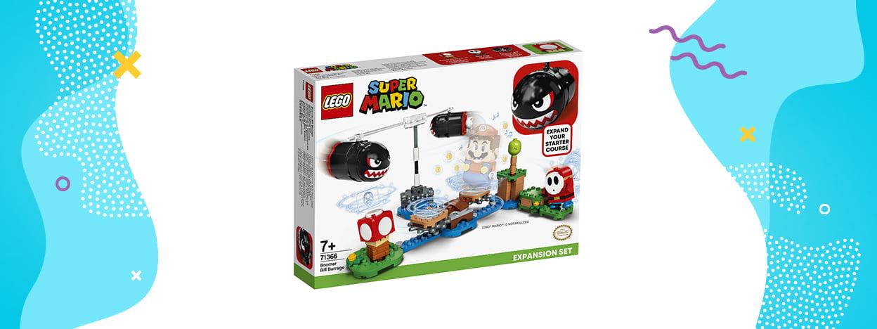 LEGO Super Mario Ostrzał Banzai Bill (zestaw rozszerzający 71366)