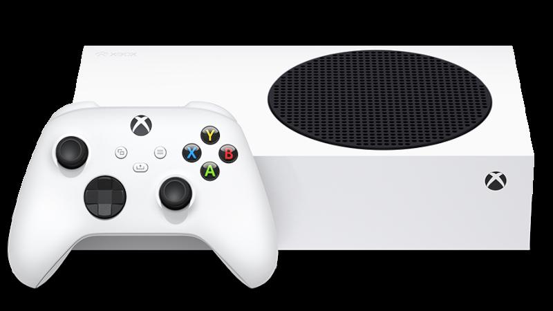 Xbox Series S z kontrolerem (padem)